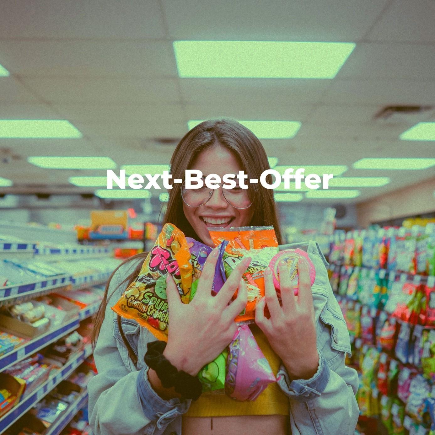 Kundenindividuelle und datenbasierte Ermittlung für das beste nächste Angebot