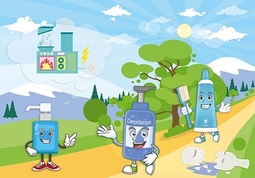 Verpackungen aus Kunststoff sind sicher, leicht, stabil und hygienisch.