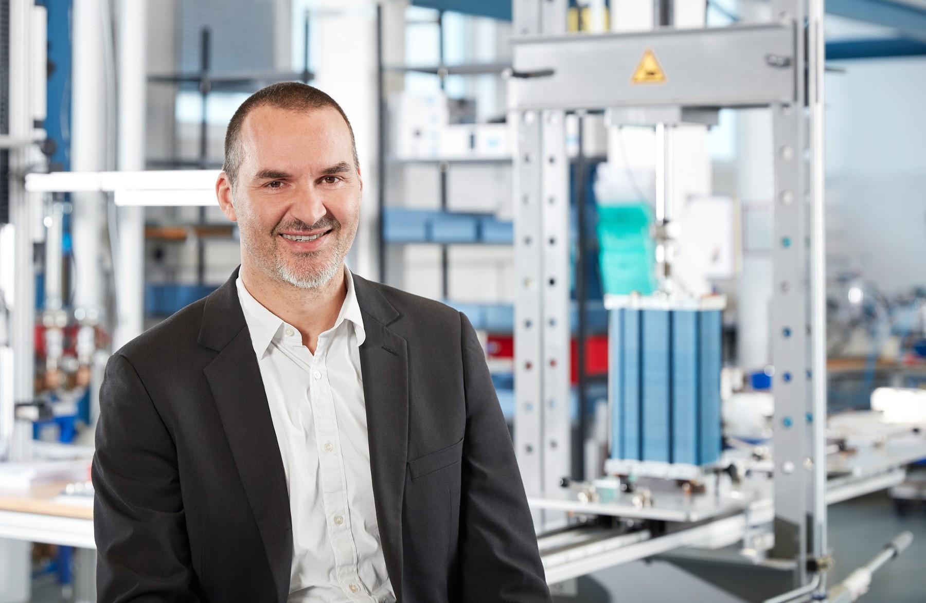 Hydrogen Europe-Bewerbung von Manfred Limbrunner, Proton Motor-Direktor Vertrieb und Marketing