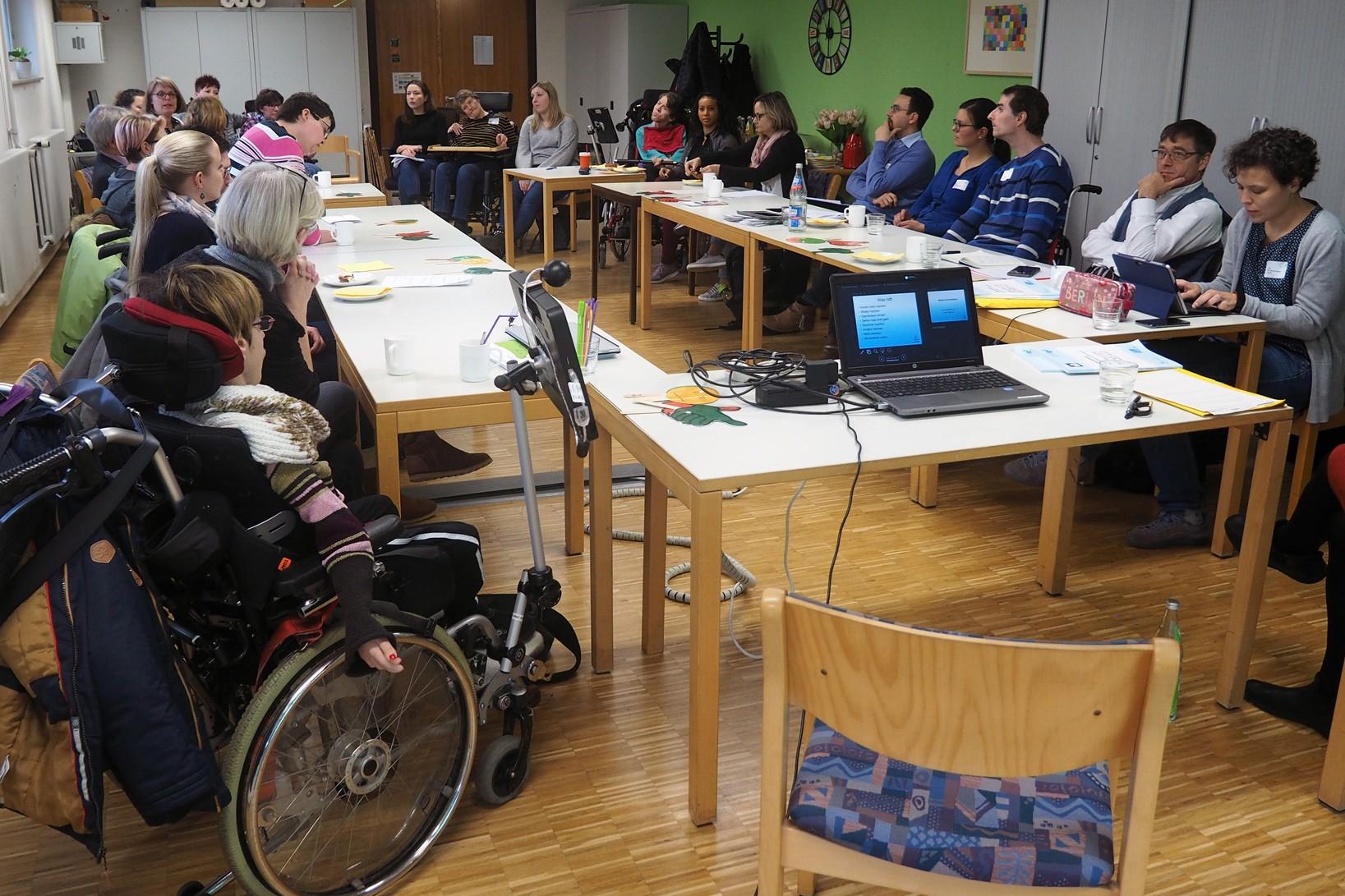 GWW Herrenberg erörtert Fragen zu selbstbestimmtem Leben für Menschen mit hohem Unterstützungsbedarf