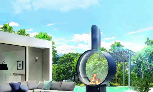 Kunstvolles Feuer: Outdoor-Gaskamin schafft einzigartiges Ambiente