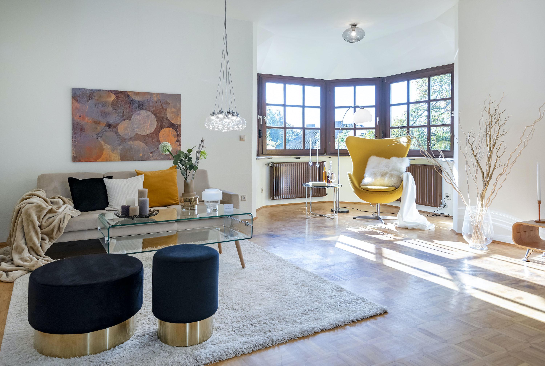 Erfolgreiches Home Staging in einer Bestandsimmobilie in Würzburg (Foto: Heike Rost).