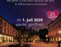 Ab 01.07. wieder geöffnet – Wellnesshotel im Schwarzwald