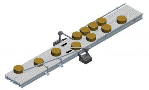 FlexMove-Modulkettenförderer mit intelligenter Zusammenführung