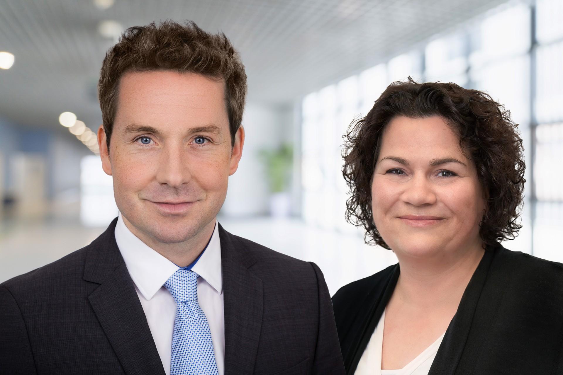 Stefan Kermas und Veronika Stotko, neue Führungs-Doppelspitze der SPS