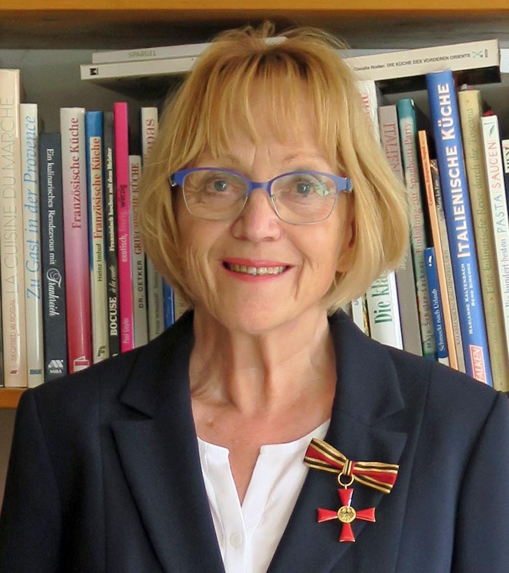 Ute Fischer: Ehrung in Corona-Zeiten