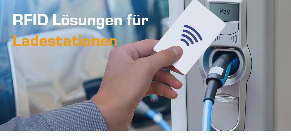 RFID HF Reader, Ladekarten und Keyfobs für E-Ladesäulen