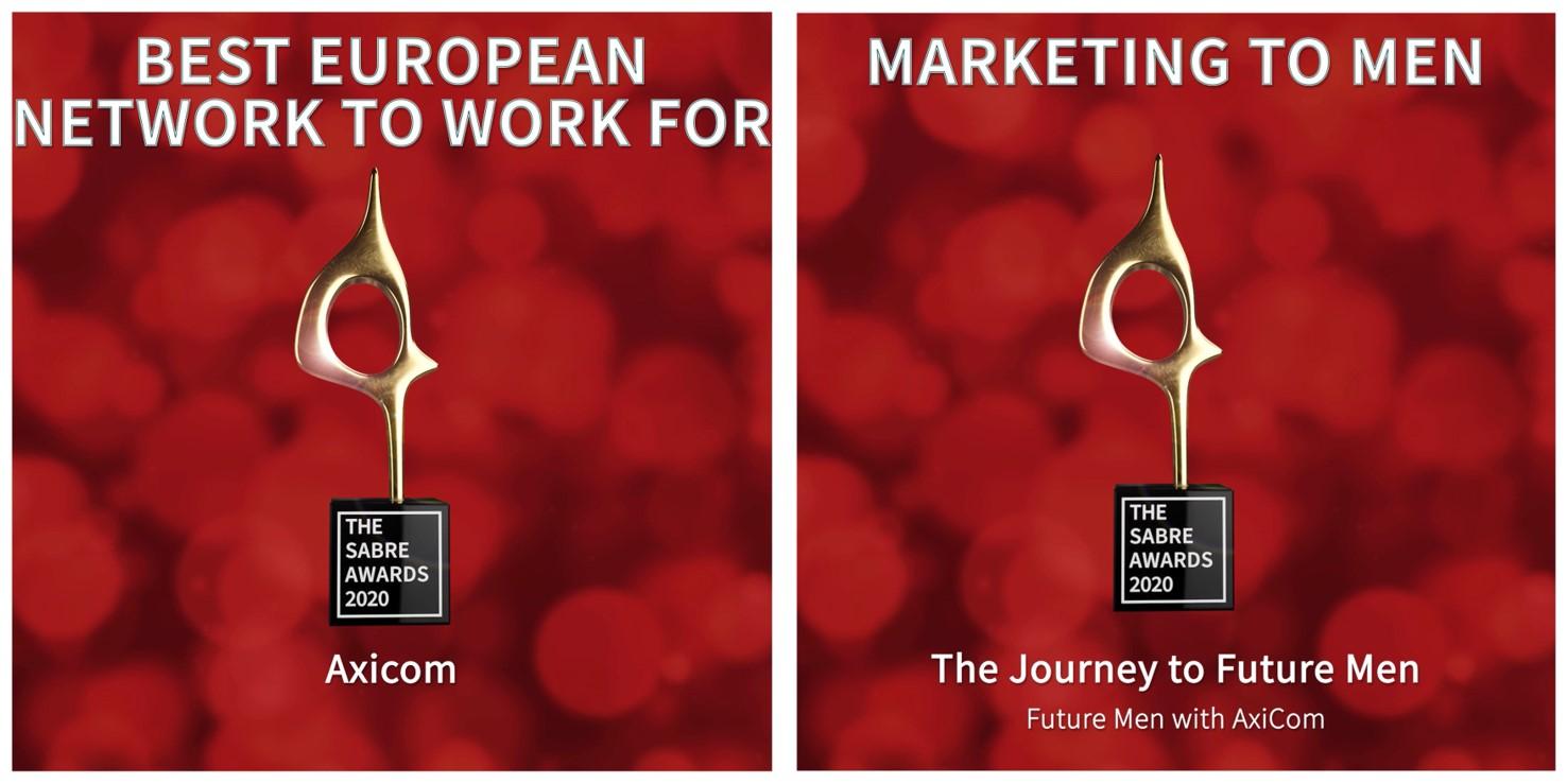 Kommunikationsagentur AxiCom gewinnt zwei EMEA SABRE Awards