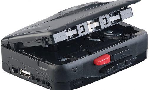 auvisio Mobil-Kassettenspieler und Digitalisierer