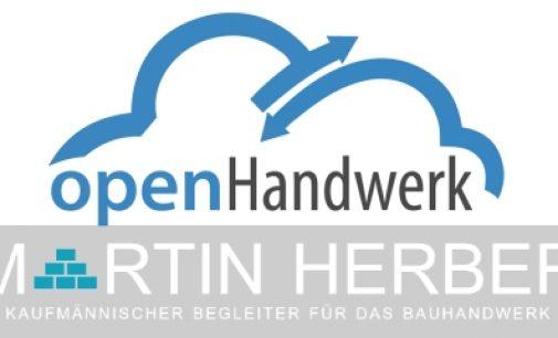 openHandwerk und Martin Herber arbeiten zukünftig zusammen.