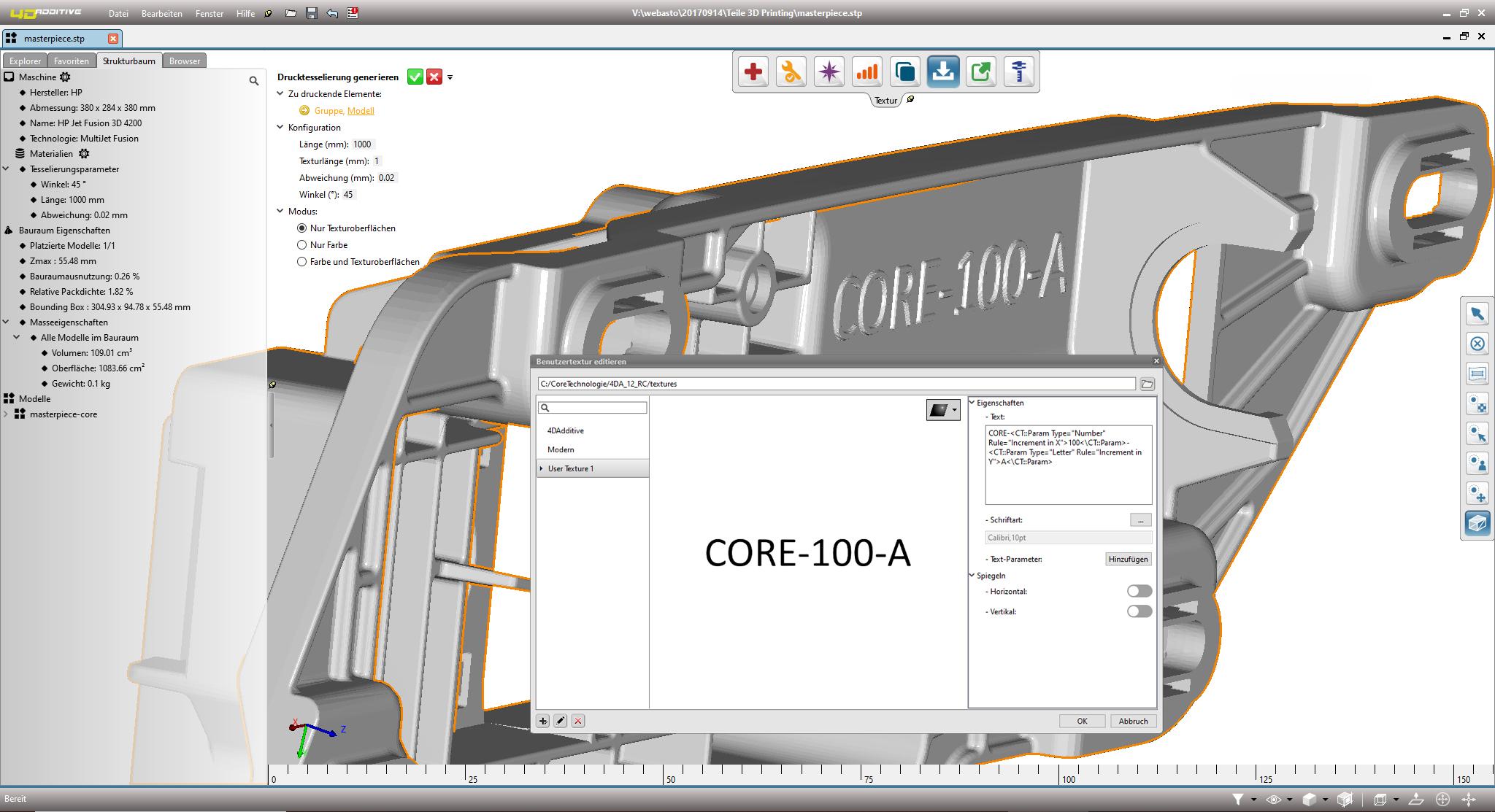 Innovative 4D_Additive Software ermöglicht automatische Beschriftung von 3D-Druckbauteilen
