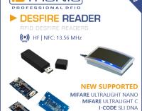 Neue MIFARE DESFire Chipkartentechnologien: DESFire Reader unterstützen ab sofort neue MIFARE DESFire Tags