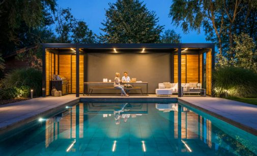 Pergola Lamellendach als flexible Lösung für den Außenbereich