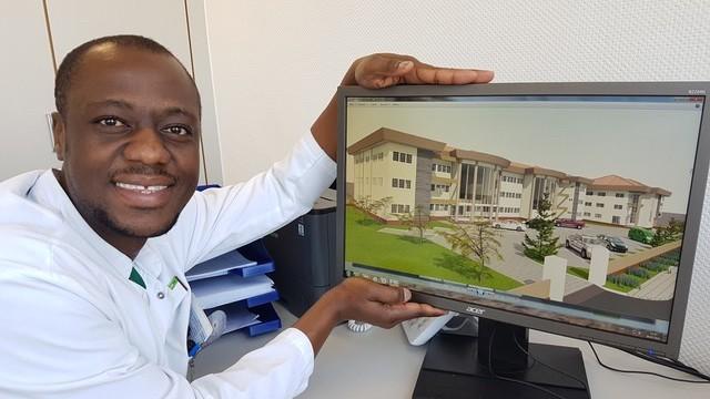 Dr. med. Samuel Okae, Initiator und Ideengeber des Projektes