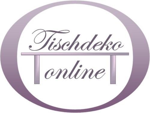 Tischdeko-onlne.de - Webshop für Eventdeko, Wohndeko und Raumdeko. Trusted-Shop seit 2008.