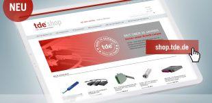 Übersichtlicher, funktionaler, detaillierter: Netzwerkspezialist tde mit neuem Online-Shop