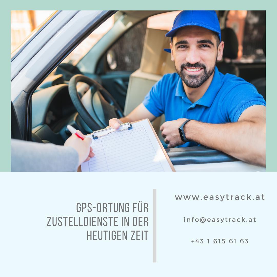 Einsatz von GPS-Geräten der Firma Easytrack ermöglicht bessere Service für Zustelldienste