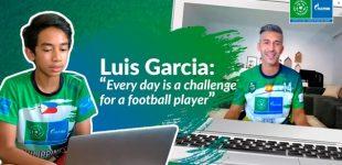 """UEFA-Botschafter Luis Garcia, Kelly Smith und Robert Pires verraten ihre besten Tricks bei """"Fußball für Freundschaft"""" (F4F)"""