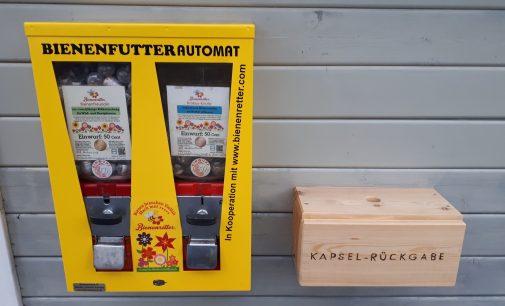 Bienenfutter Automat in Fischbachtal