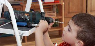 Nägel und Schrauben: nichts für Kinderhände