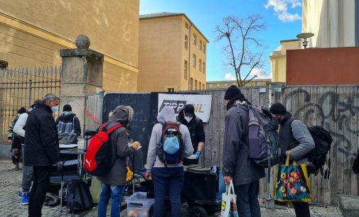 Tipp Oil unterstützt Sams Obdachlose