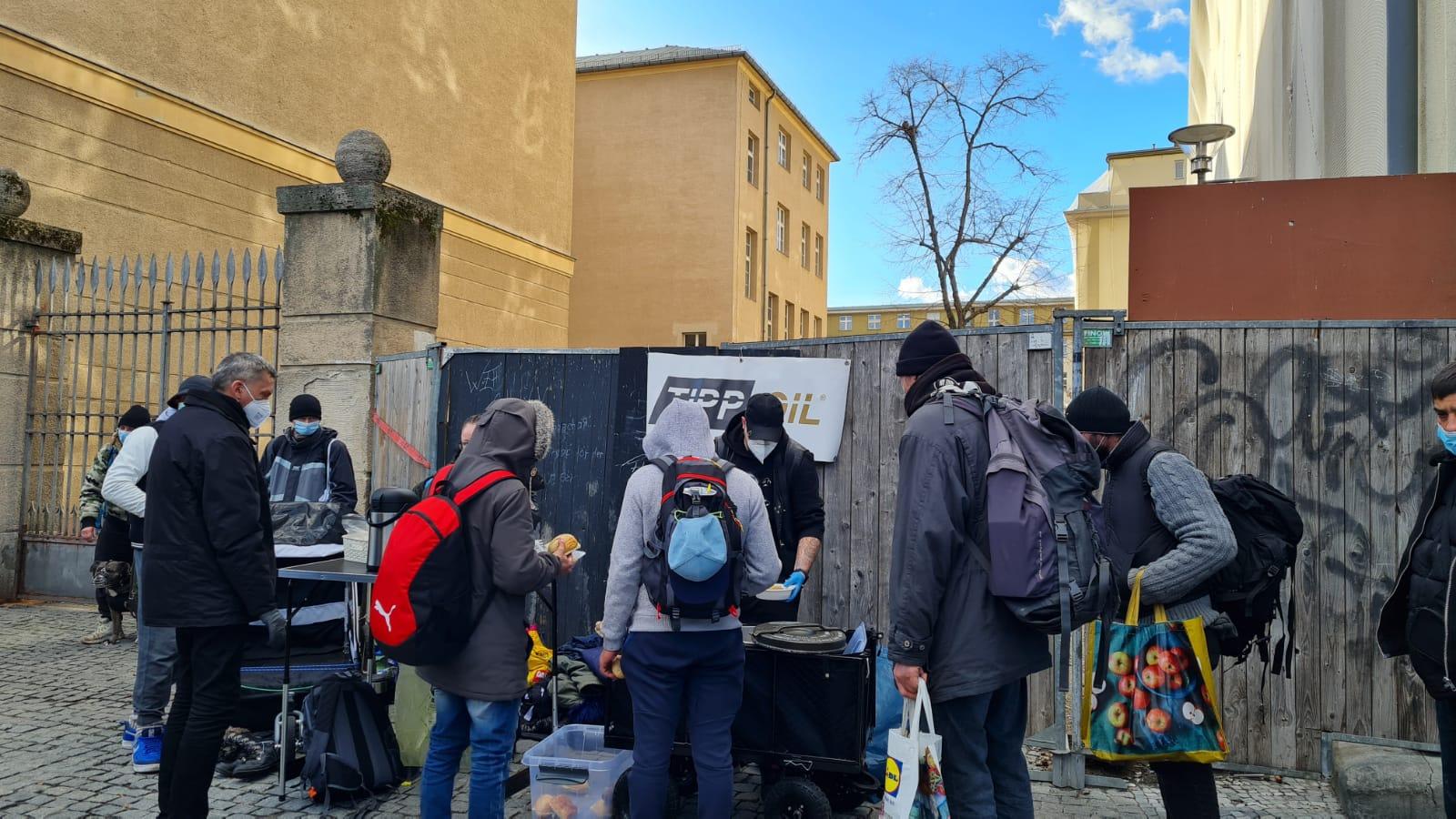 Tipp Oil und Sam in Berlin Hilfe für Obdachlose