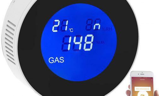 VisorTech WLAN-Multi-Gasmelder für haushaltsübliche Gase