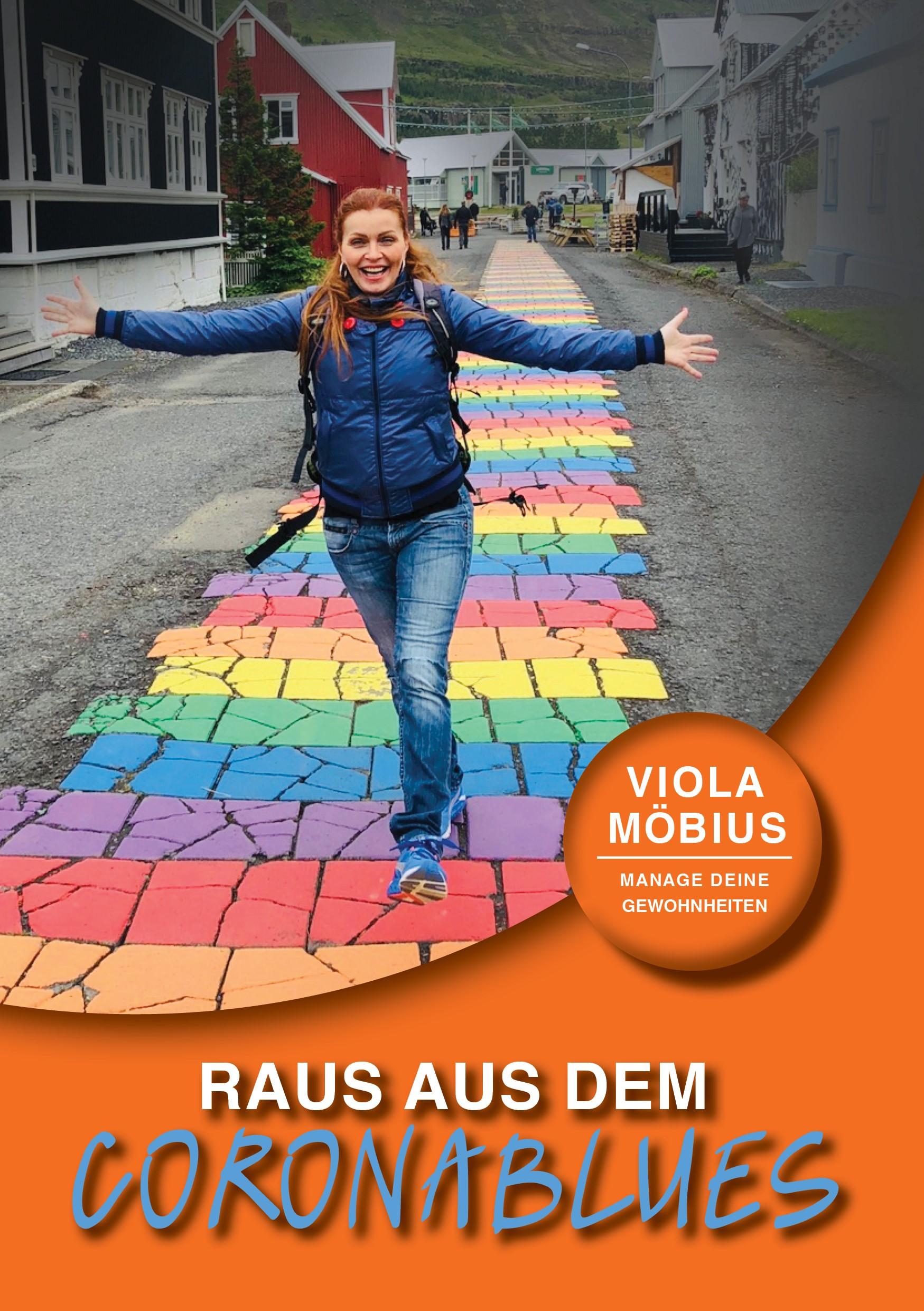 """Das neue E-Book von Viola Möbius: """"Raus aus dem Coronablues"""""""