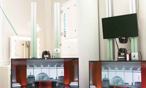 Digitales Hauptstadtstudio im Haus der Bundespressekonferenz verzeichnet Rekordnachfrage