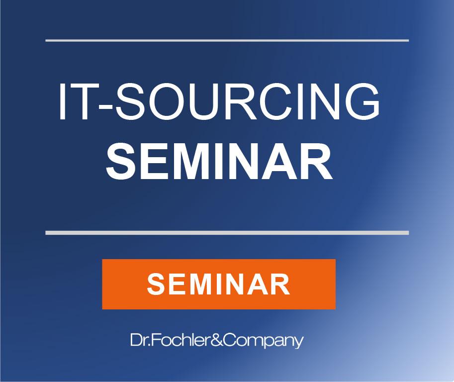 IT-Sourcing-Seminar (Dr. Fochler & Company)