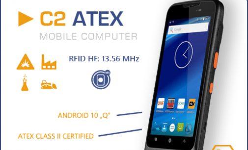 Mobile Computer C2 ATEX ab sofort mit Android 10 verfügbar