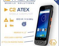 """Mobile Computer C2 ATEX ab sofort mit neuestem Betriebssystem Android 10 """"Q"""" erhältlich: Die Mobile Handheld Lösung mit Android 10 """"Q"""" für den Einsatz in explosionsgefährdeten Zonen"""