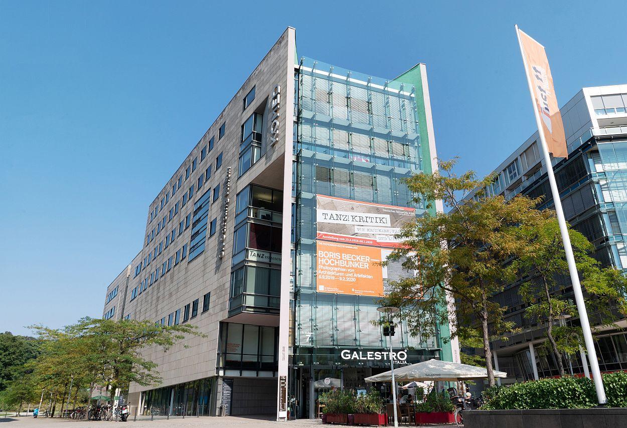 Gebäude der SK Stiftung Kultur im MediaPark Köln