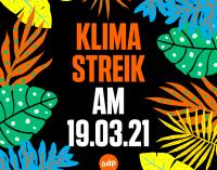 Freitag, 19. März 2021: ÖDP NRW ruft zur Teilnahme am Klimastreik auf