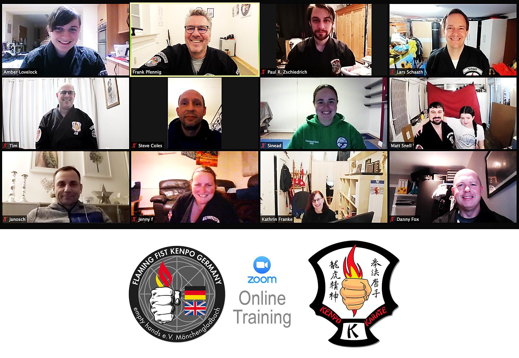 Online Kenpo Training Mönchengladbach