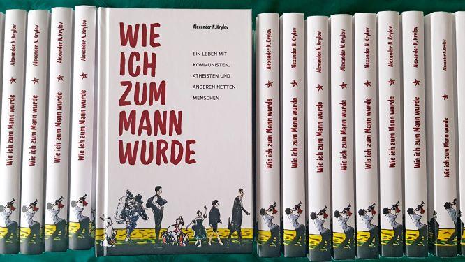 """Das Buch """"Wie ich zum Mann wurde"""" von Alexander Krylov ist in 2. Auflage im Buchhandel erhältlich."""