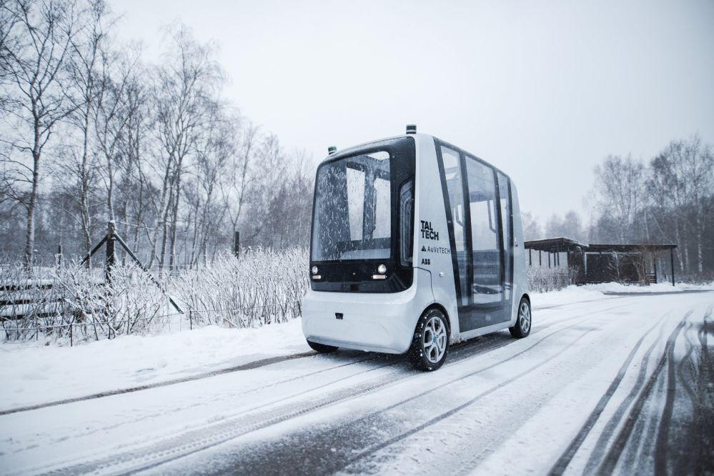 In den autonomen Busse von AuveTech sind Vehicle Router von NetModule integriert. (Bild: AuveTech)