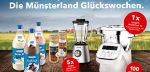 Die Münsterland Glückswochen! Genießen und gewinnen – das große Münsterland & KRUPS Gewinnspiel.