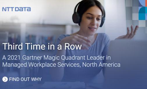 NTT DATA im Gartner Magic Quadrant für Managed Workplace Services als Leader platziert