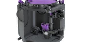 Flexible Gebäudeentwässerung mit minimalem Platzbedarf: Aqualift S 100/200 zur freien Aufstellung