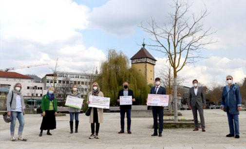 Unterstuetzung für soziale Projekte und den Spendenmarathon in der Region Reutlingen