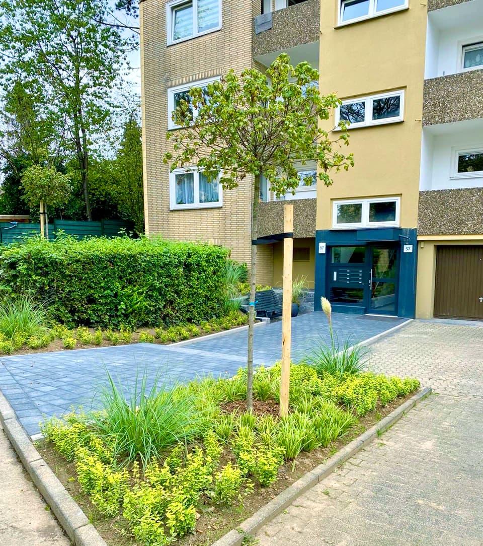 belvona sorgt mit umfassenden Modernisierungen für gepflegte, schöne Wohnanlagen.