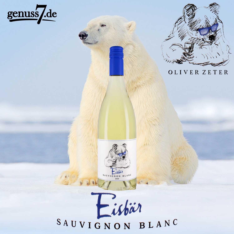Eisbär Sauvignon Blanc - Keiner ist cooler als der Eisbär