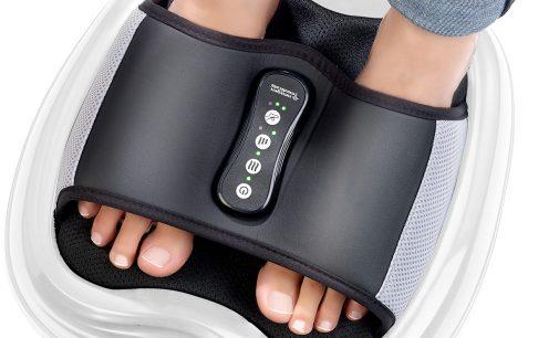 newgen medicals Shiatsu-Fußmassagegerät, Akupunktur