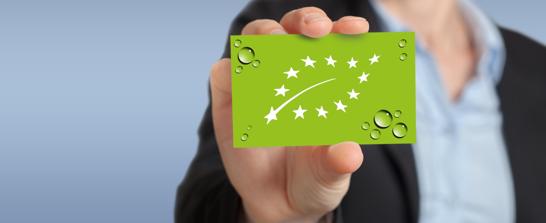 Über 350 Werbeartikel von brilliant promotion® sind bio-zertifiziert, erkennbar am Bio-Siegel.
