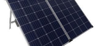 revolt Faltbares mobiles Solar Panel & Laderegler oder Powerbank
