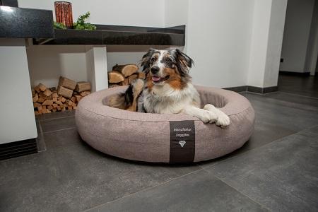 Orthopädisches Hundebett Soft Style rund
