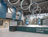 Flow to the future: GF Piping Systems präsentiert nachhaltige Lösungen der Prozessautomatisierung, Wasseraufbereitung und führt Absperrklappe 565 ein
