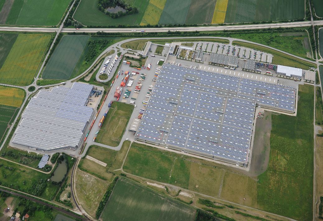 Photovoltaikanlage der PT Energiefonds Dingolfing