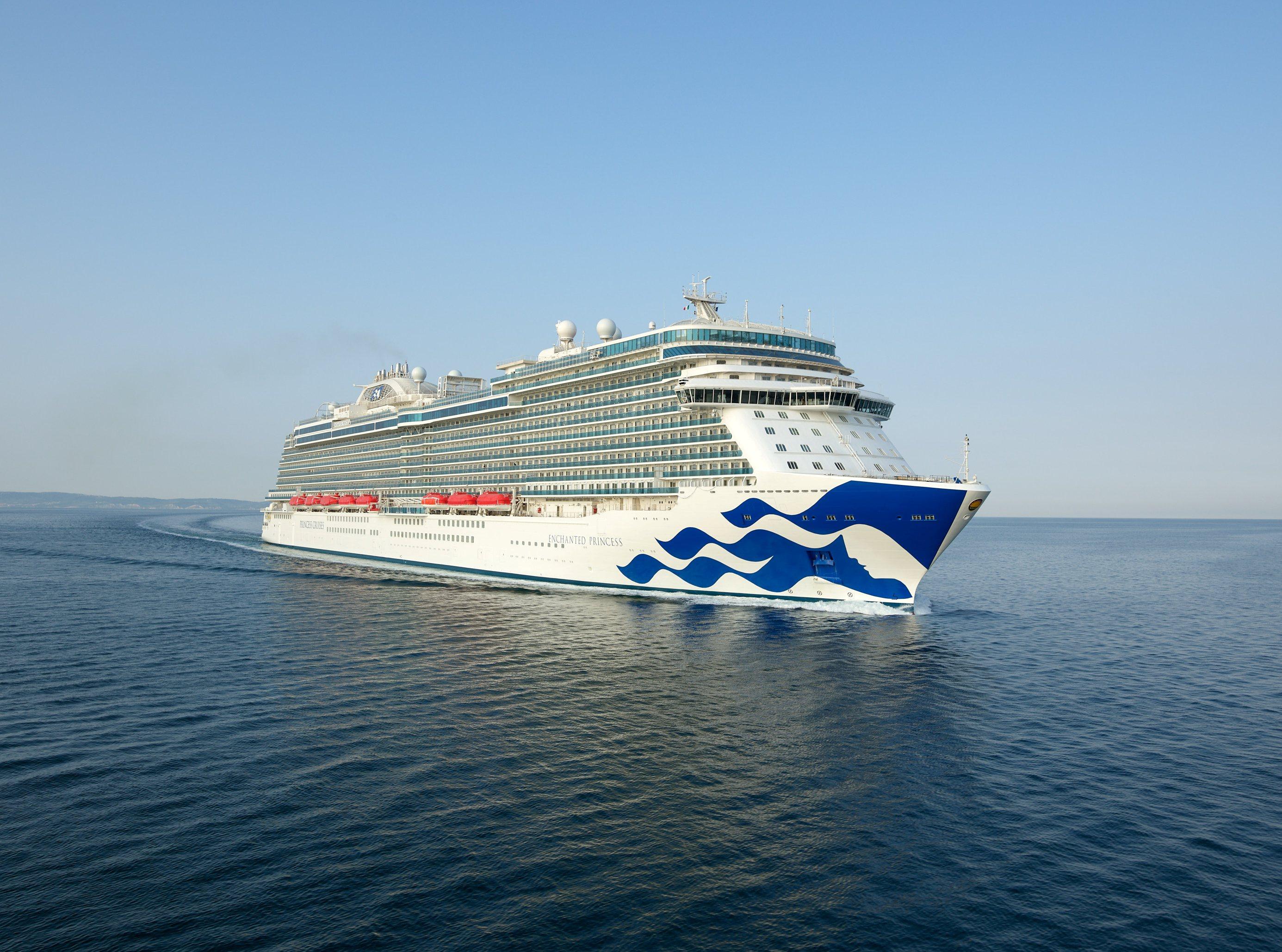 Kreuzt 2020 in europäischen Gewässern: die Enchaned Princess